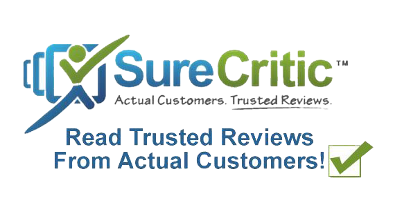 surecritic review logo
